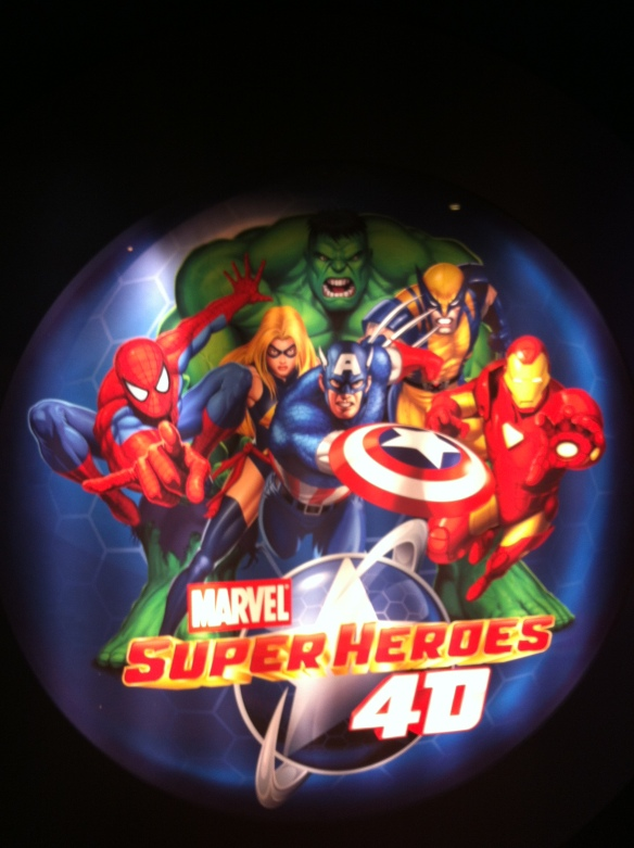 Marvel Comic 4D Experience