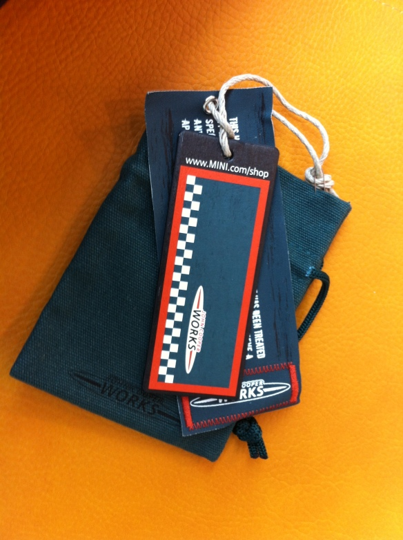 JCW Keyring Pouch