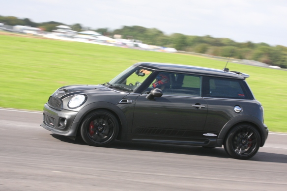 JCW on back straight