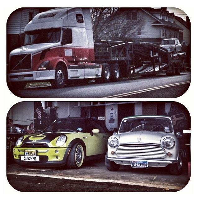 Mr Beanmobile