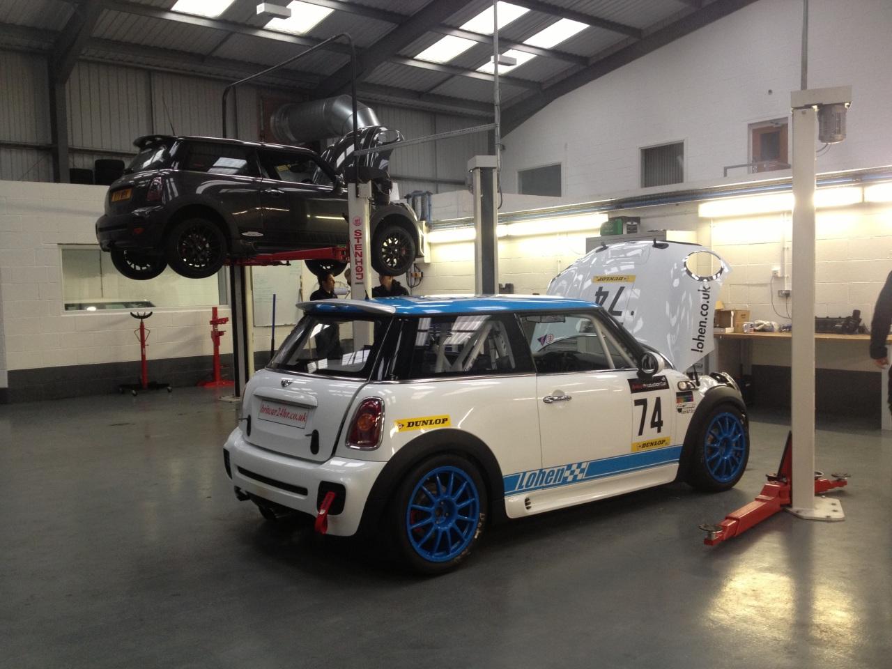 JCW Mods & Lohen's R56 Challenge Racecar Polar Bear