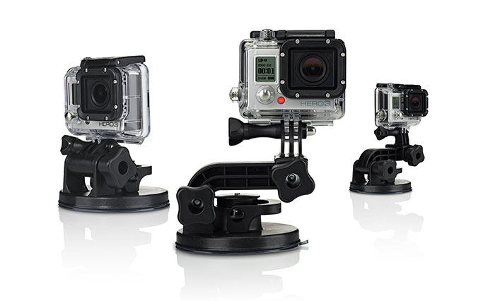 Go Pro 3 Suction Cup