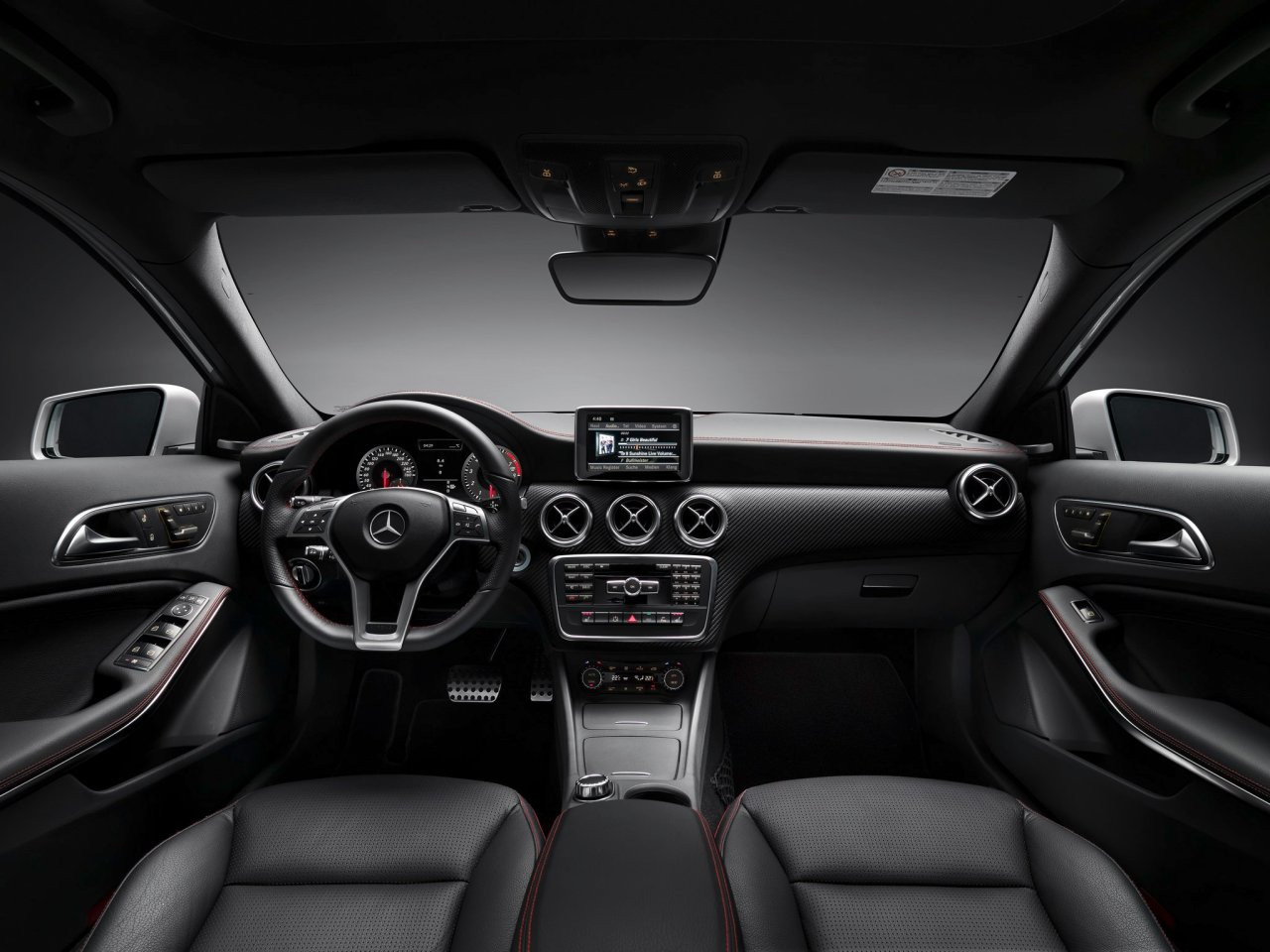 A Class AMG Interior