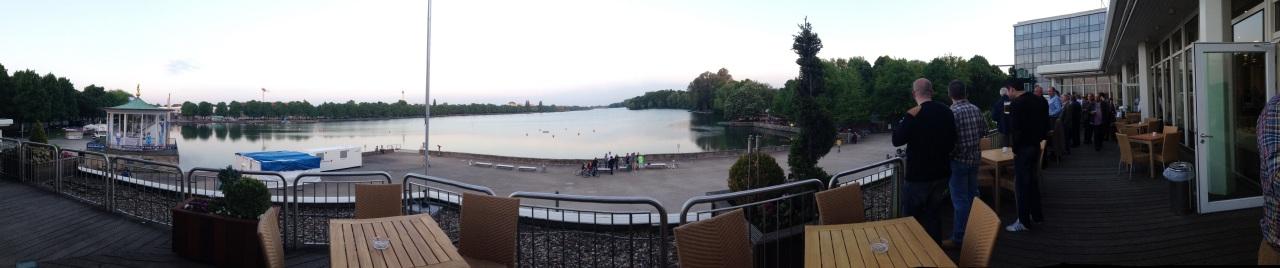 Hotel Dinner view