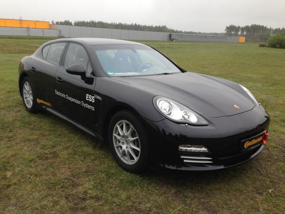 Porsche Air Suspension