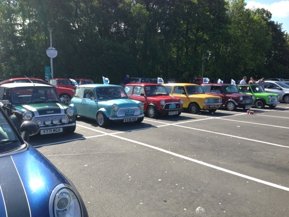 Classic Minis Line up