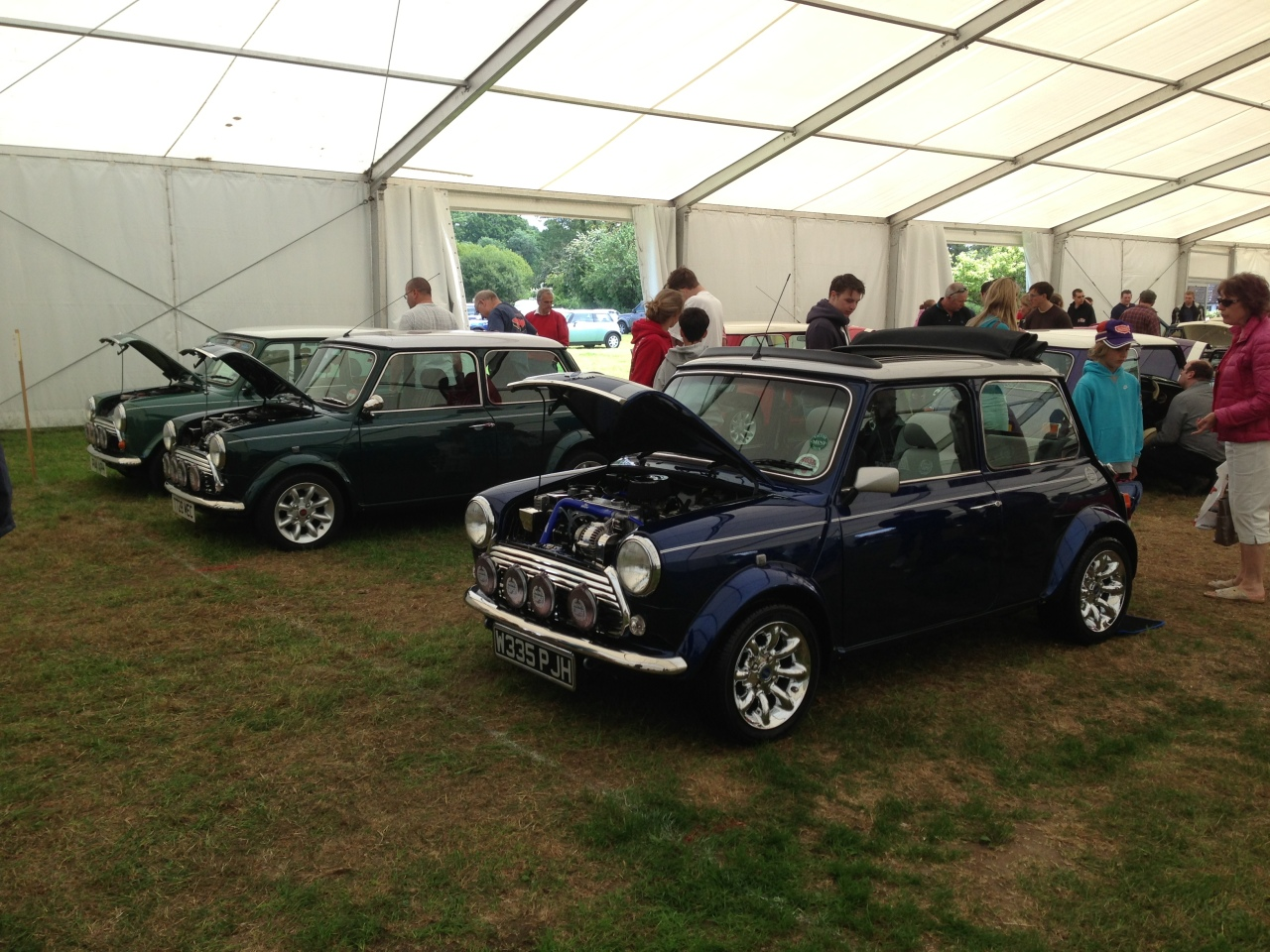 Classic Mini show and shine 2
