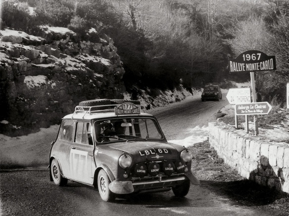 MINI Montle Carlo Rally