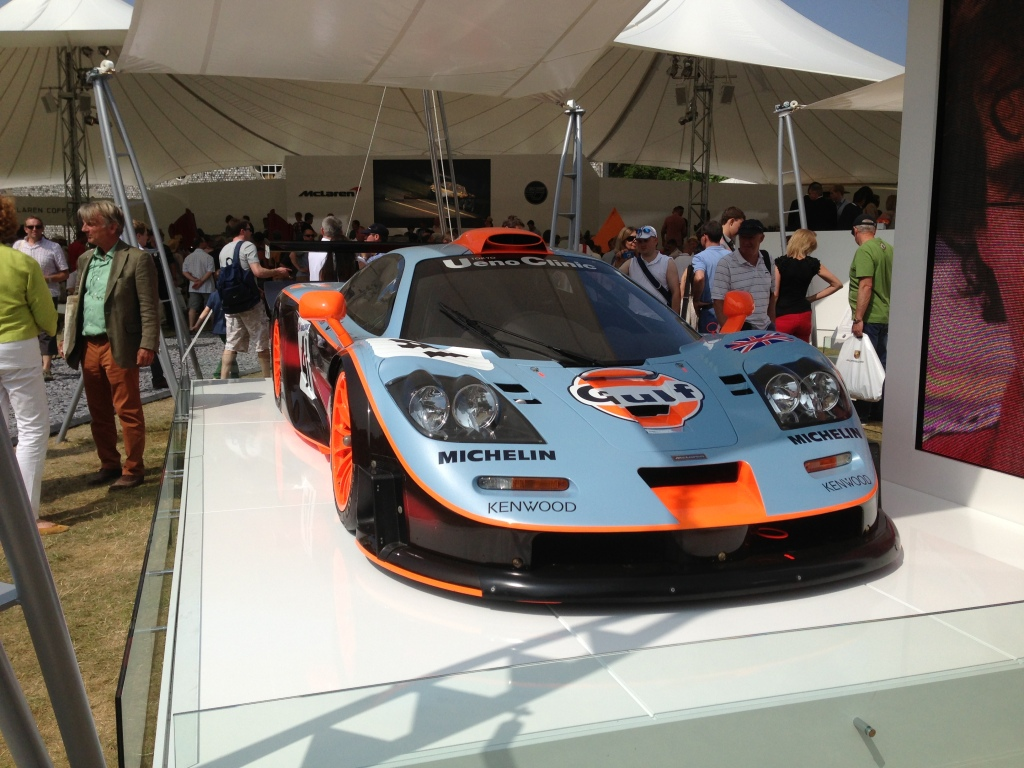 McLaren F1 Long tail Gulf livery