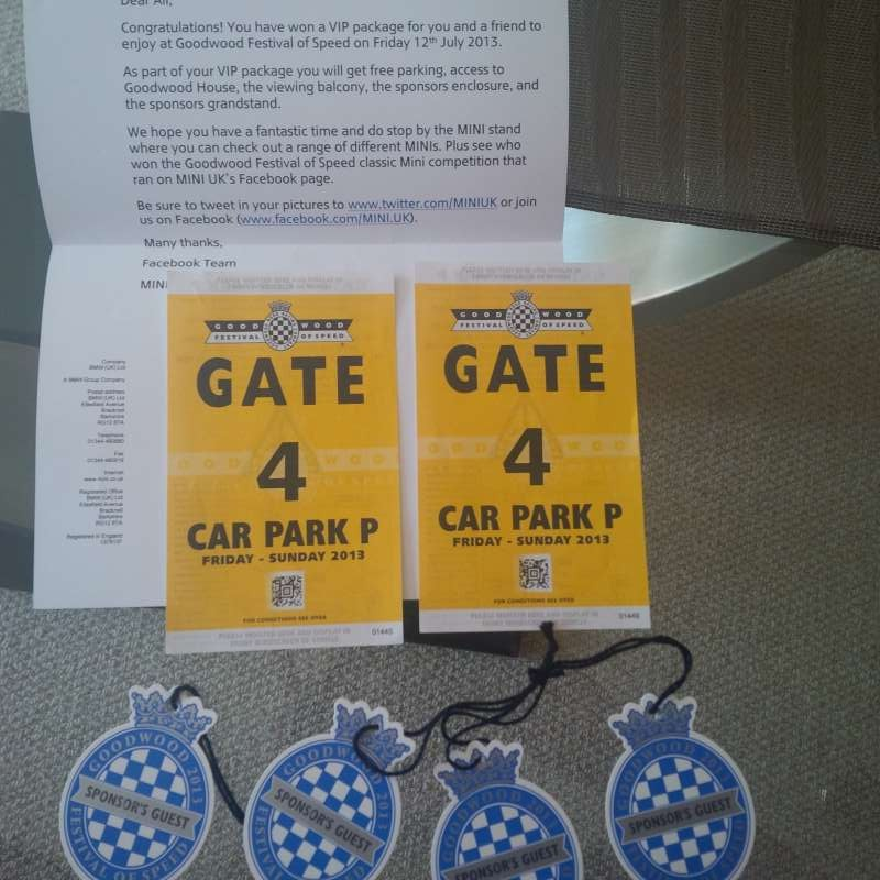 Goodwood Tickets