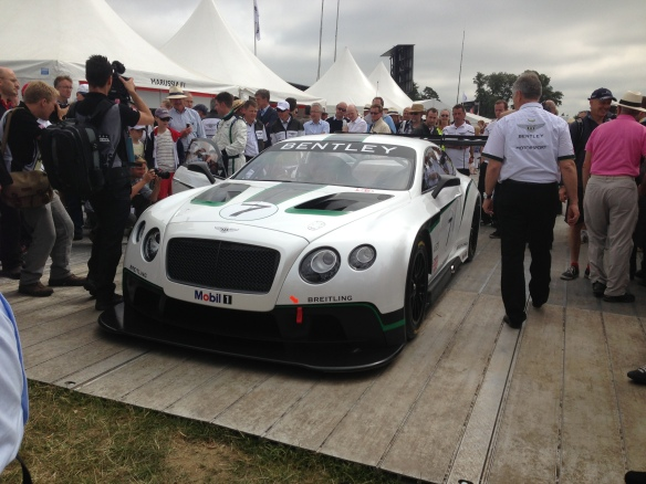 Bentley GT3 racecar