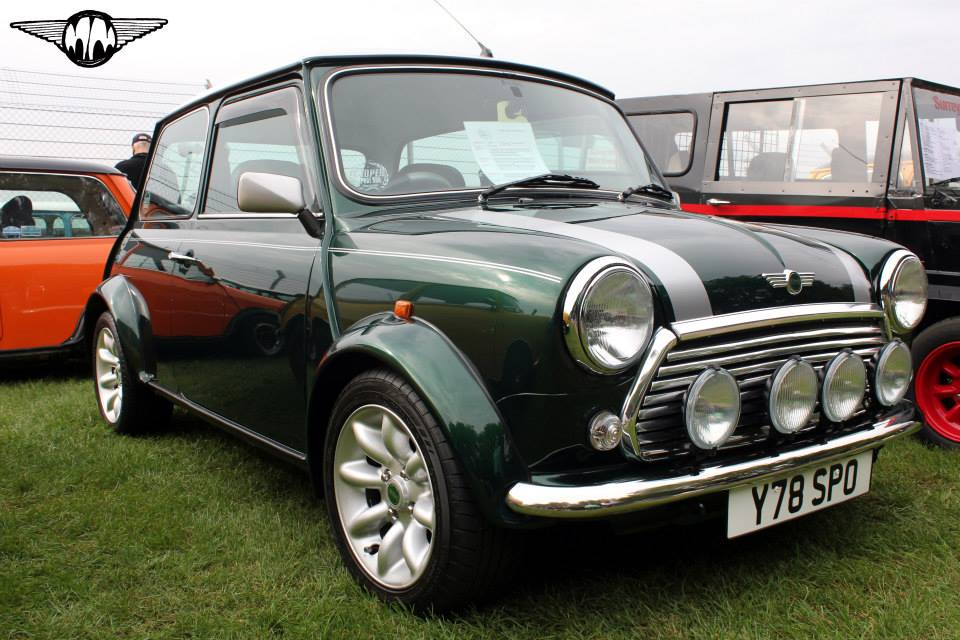 British Racing Green Classic Mini