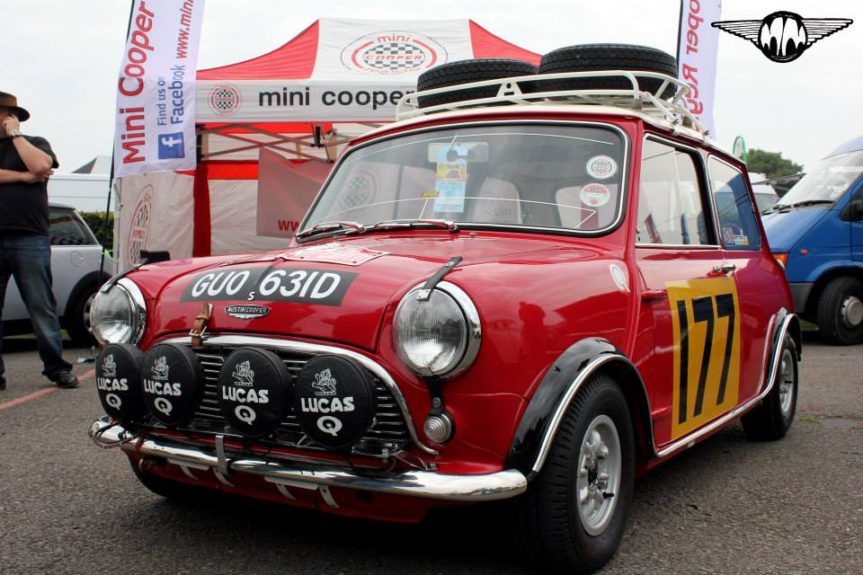 Monte Carlo Rally Classic Mini Look