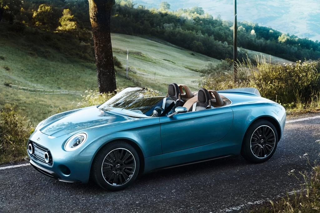 MINI Superleggera concept vision roadster