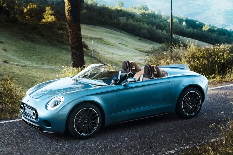 MINI Superleggera concept vision roadster
