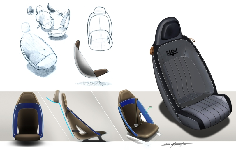 MINI Superleggera concept seats