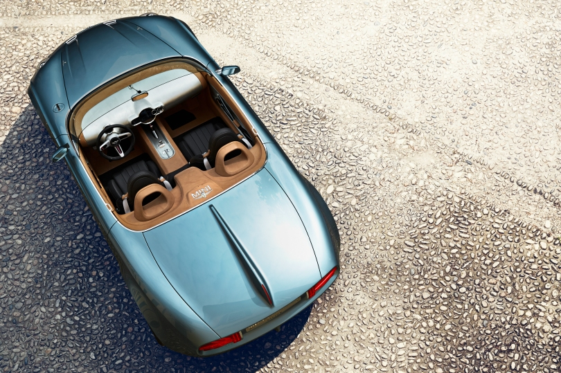MINI Superleggera birds eye view
