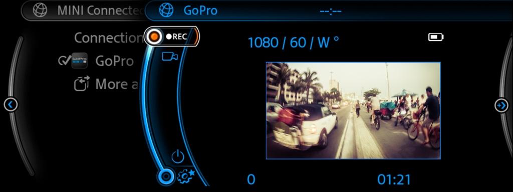 mini go pro view