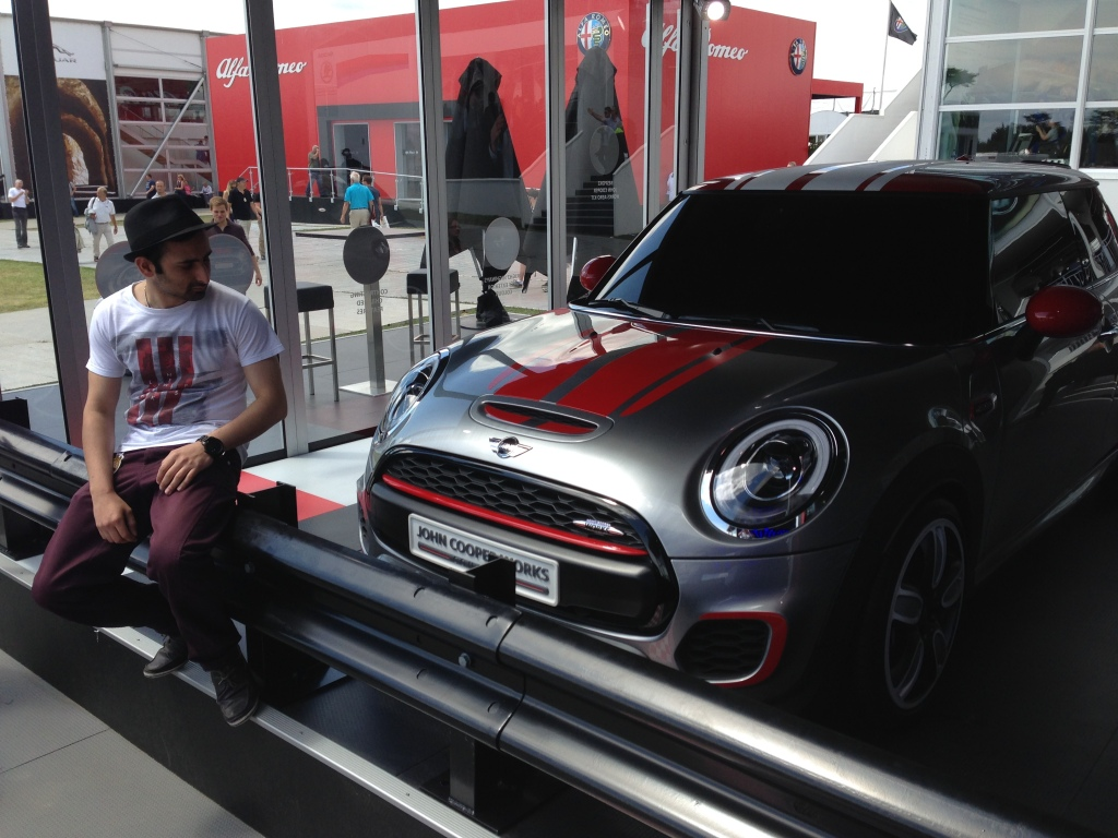 driver and JCW