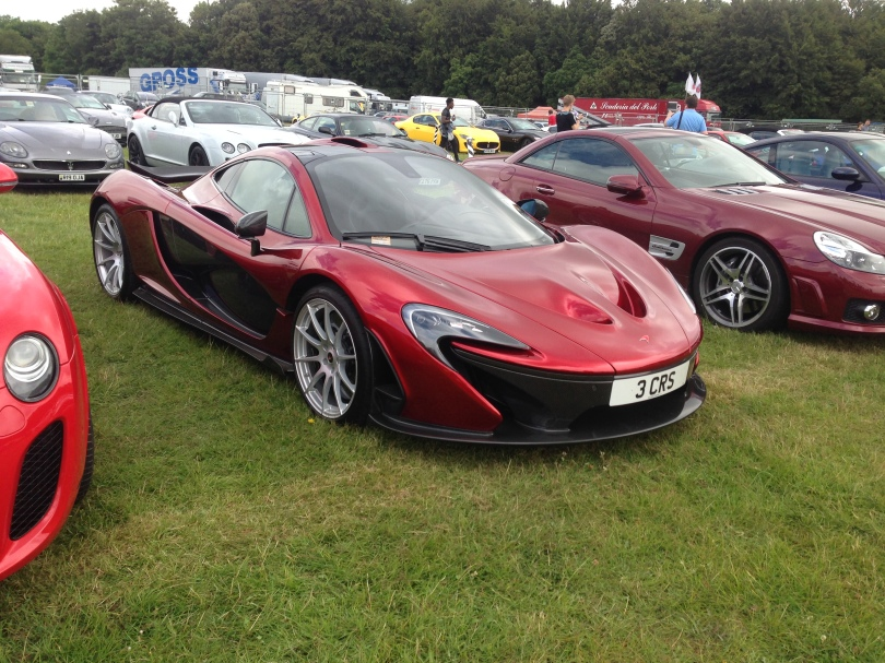 Mclaren P1 candy red