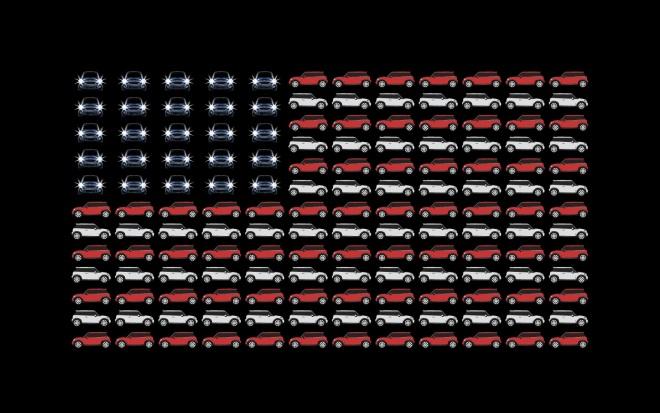 MINI USA FLAG