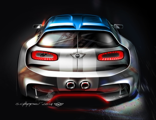 MINI Vision GT Garage 02
