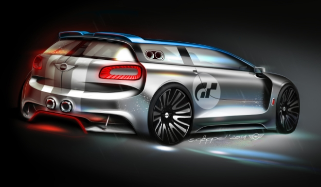 MINI Vision GT Garage 03