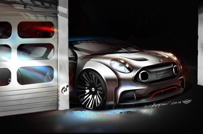 MINI Vision GT Garage