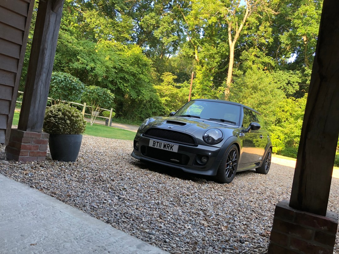 MINI JCW PARKED UP
