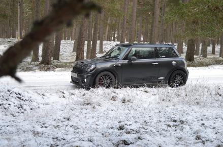 Scotland Snow Roadtrip MINI JCW