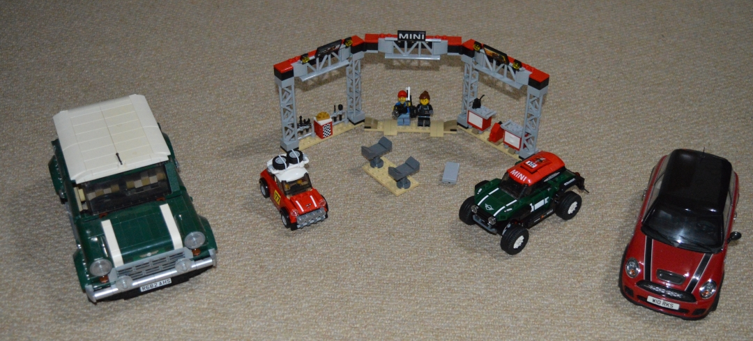 lego mini dakar rally car classic mini lego kyosho mini jcw