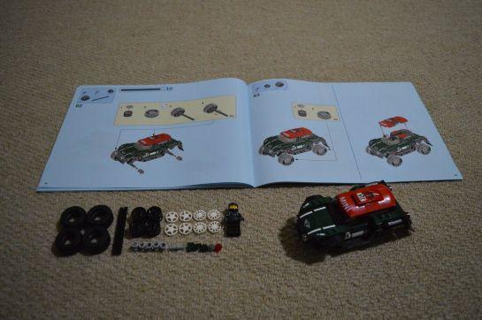 mini speed machine 75894 - dakar countryman mini rally 07