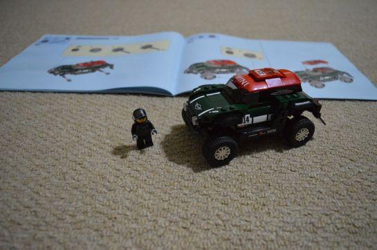 mini speed machine 75894 - dakar countryman mini rally 09