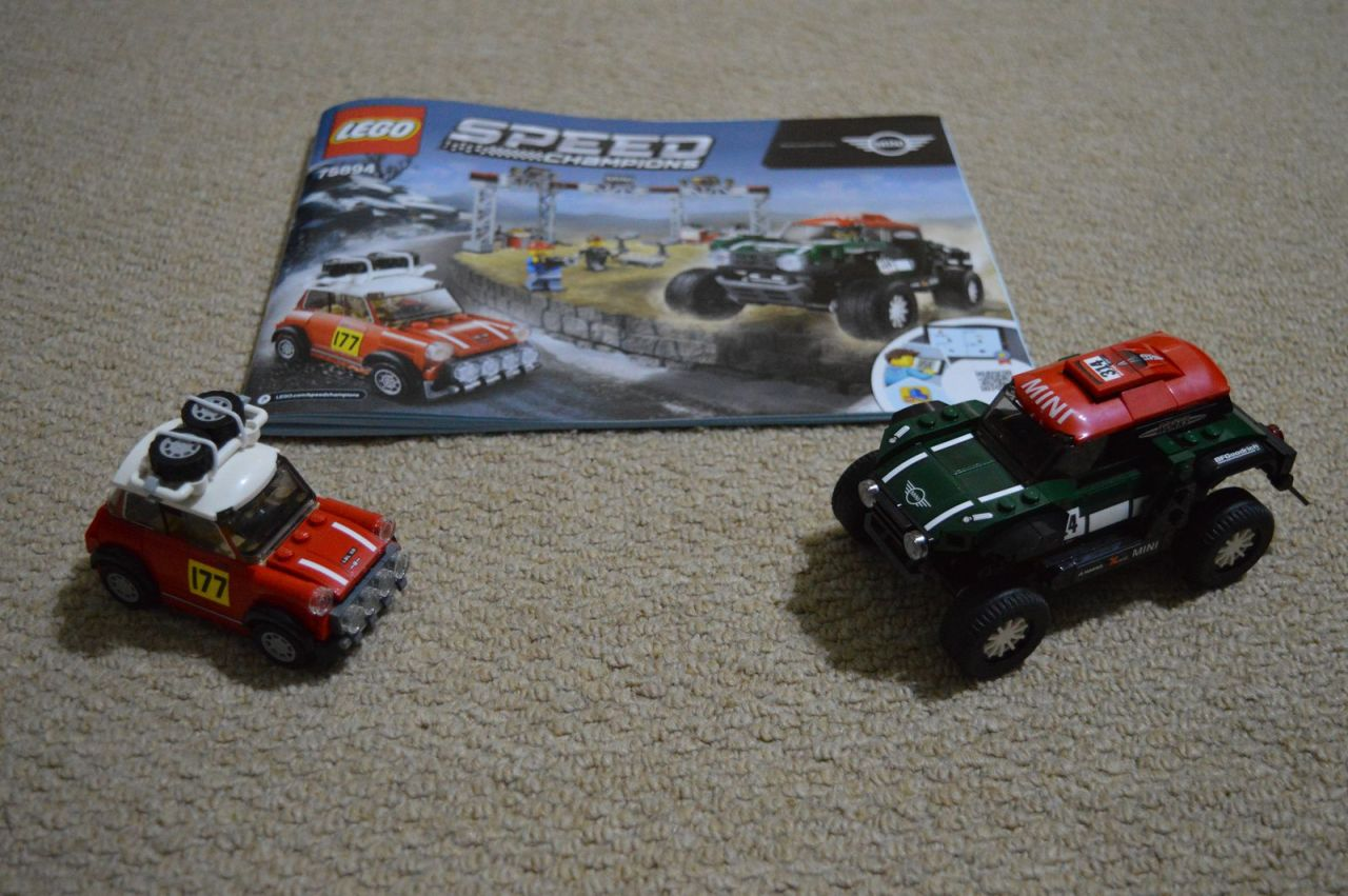 mini speed machine 75894 - mini monte carlo and dakar countryman mini rally