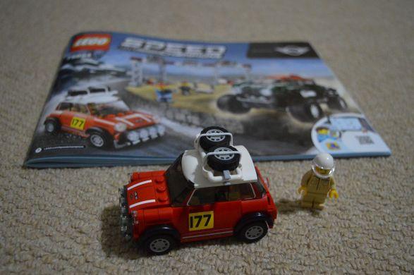 mini speed machine 75894 - monte carlo mini rally