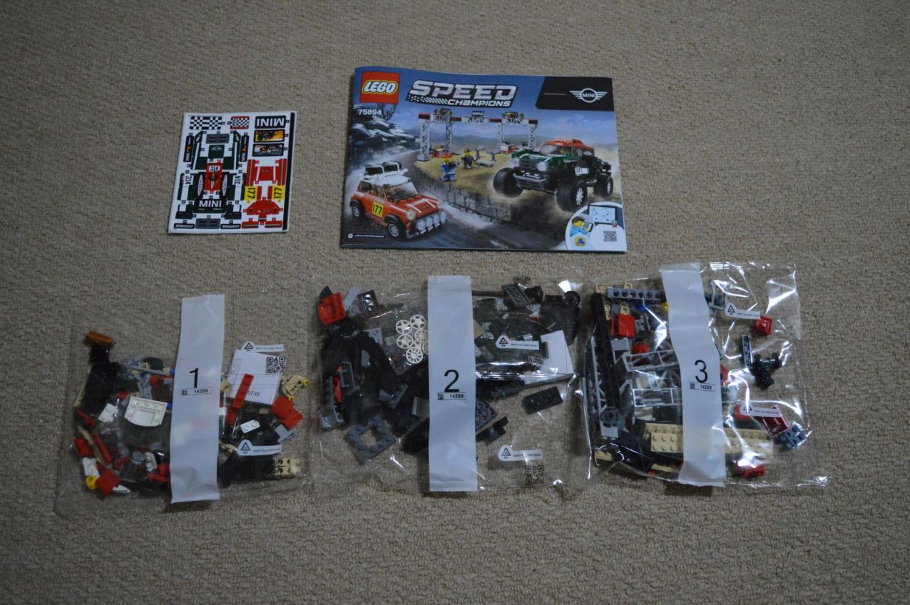 mini speed machine 75894 - parts and instructions
