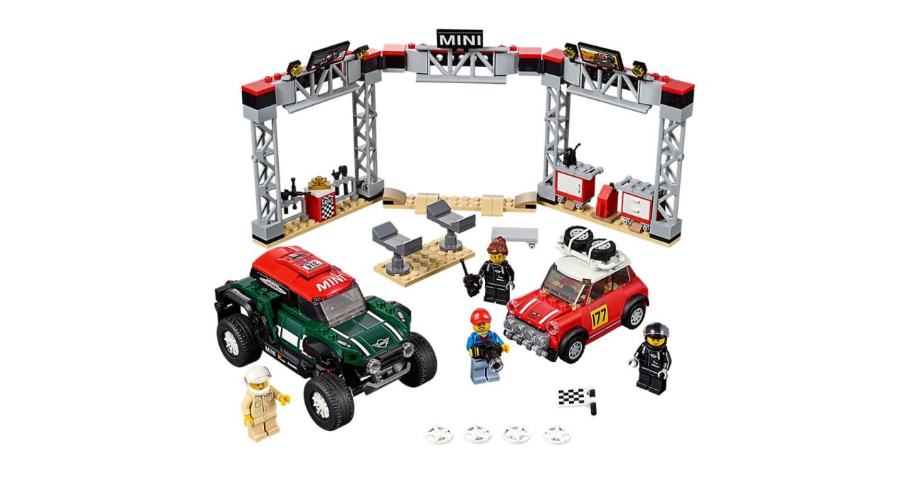 MINI Rally Race Car - Speed Machine Set