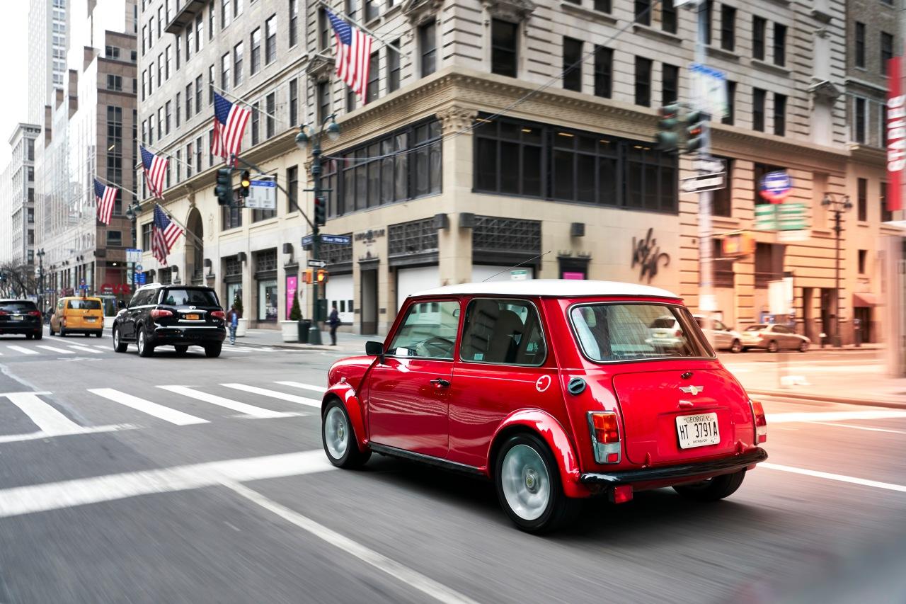 Classic Mini E Rear